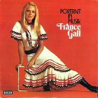 Cover France Gall - Portrait in Musik