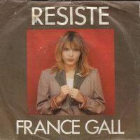 Cover France Gall - Résiste