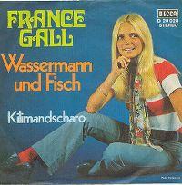 Cover France Gall - Wassermann und Fisch