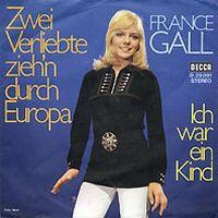 Cover France Gall - Zwei Verliebte zieh'n durch Europa