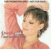 Cover Francine Jordi - Halt mich noch einmal