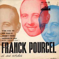 Cover Franck Pourcel - Vivre avec toi