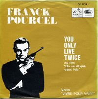 Cover Franck Pourcel - You Only Live Twice