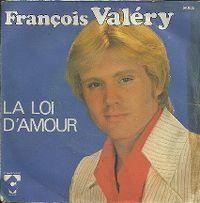 Cover François Valéry - La loi d'amour