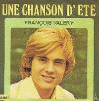 Cover François Valéry - Une chanson d'été