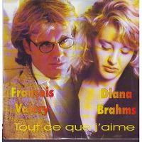 Cover François Valéry & Diana Brahms - Tout ce que j'aime