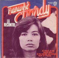 Cover Françoise Hardy - La recontre