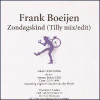 Cover Frank Boeijen - Zondagskind