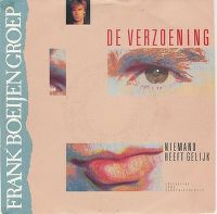 Cover Frank Boeijen Groep - De verzoening