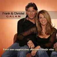 Cover Frank & Christel Galan - Eerst een cappuccino, dan een beetje vino