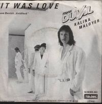 Cover Frank Duval & Kalina Maloyer - It Was Love