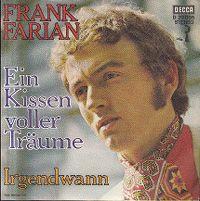 Cover Frank Farian - Ein Kissen voller Träume