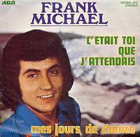 Cover Frank Michael - C'était toi que j'attendais