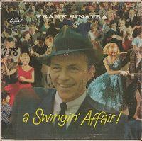 Cover Frank Sinatra - A Swingin' Affair!