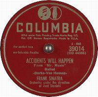 Cover Frank Sinatra - Accidents Will Happen