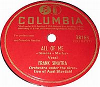 Cover Frank Sinatra - All Of Me