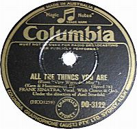 Cover Frank Sinatra - All The Things You Are