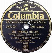 Cover Frank Sinatra - All Through The Day