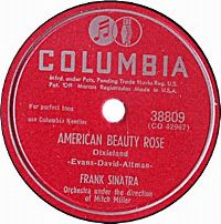 Cover Frank Sinatra - American Beauty Rose