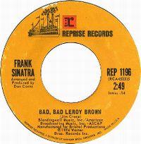 Cover Frank Sinatra - Bad, Bad Leroy Brown
