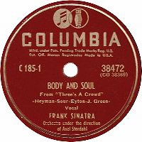 Cover Frank Sinatra - Body And Soul