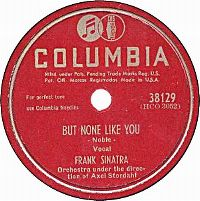 Cover Frank Sinatra - But None Like You