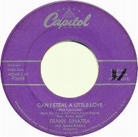 Cover Frank Sinatra - Can I Steal A Little Love?