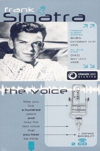 Cover Frank Sinatra - Classic Jazz Archive: The Voice