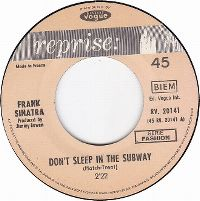Cover Frank Sinatra - Don't Sleep In The Subway
