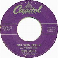 Cover Frank Sinatra - Don't Worry About Me