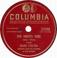 Cover Frank Sinatra - Five Minutes More