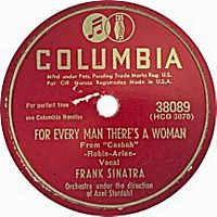 Cover Frank Sinatra - For Every Man There's A Woman