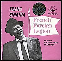 Cover Frank Sinatra - French Foreign Legion