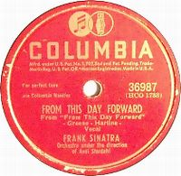 Cover Frank Sinatra - From This Day Forward