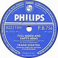 Cover Frank Sinatra - Full Moon And Empty Arms