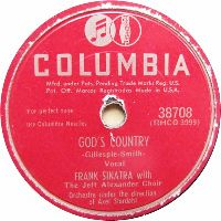 Cover Frank Sinatra - God's Country