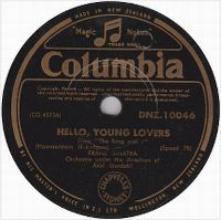Cover Frank Sinatra - Hello, Young Lovers