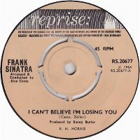 Cover Frank Sinatra - I Can't Believe I'm Losing You