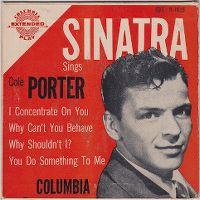 Cover Frank Sinatra - I Concentrate On You
