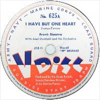 Cover Frank Sinatra - I Have But One Heart