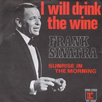 Cover Frank Sinatra - I Will Drink The Wine