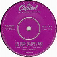 Cover Frank Sinatra - I'm Gonna Sit Right Down And Write Myself A Letter