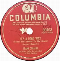 Cover Frank Sinatra - It's A Long Way (From Your House To My House)