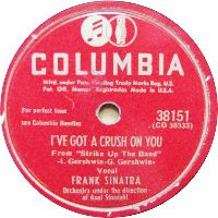 Cover Frank Sinatra - I've Got A Crush On You