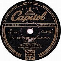 Cover Frank Sinatra - I've Got The World On A String