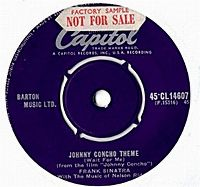 Cover Frank Sinatra - Johnny Concho Theme (Wait For Me)