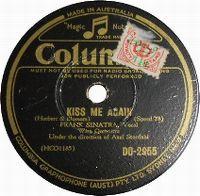 Cover Frank Sinatra - Kiss Me Again