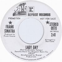 Cover Frank Sinatra - Lady Day