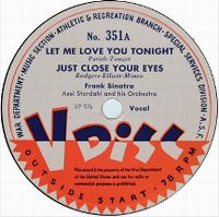 Cover Frank Sinatra - Let Me Love You Tonight