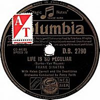 Cover Frank Sinatra - Life Is So Peculiar